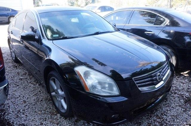 2008 NISSAN MAXIMA 35 SL SEDAN super black 99 point safety inspection automatic and p