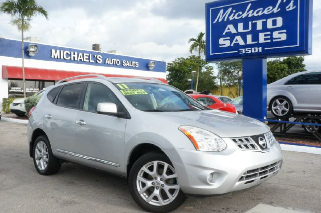 2011 NISSAN ROGUE S 4DR CROSSOVER platinum graphite clean carfax 99 point safety inspecti