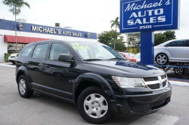 2010 DODGE JOURNEY SE 4DR SUV brilliant black crystal pearlc clean carfax 99 point safety