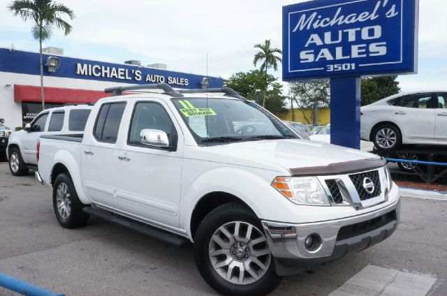 2011 NISSAN FRONTIER SL avalanche 99 point safety inspection automatic clean title