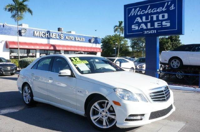 2012 MERCEDES-BENZ E-CLASS E350 diamond white metallic 99 point safety inspection clean ca