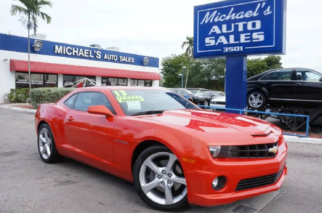 2013 CHEVROLET CAMARO SS 2DR COUPE W2SS orange metallic clean carfax 99 point safety ins
