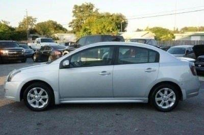 2012 NISSAN SENTRA 20 S 4DR SEDAN brilliant silver cvt xtronic stop read this in a class by it