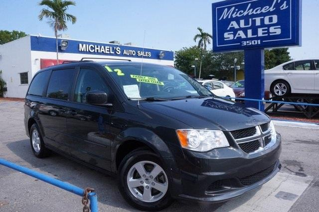 2012 DODGE GRAND CARAVAN SXT 4DR MINI VAN dark charcoal pearlcoat nice van hurry in when was t