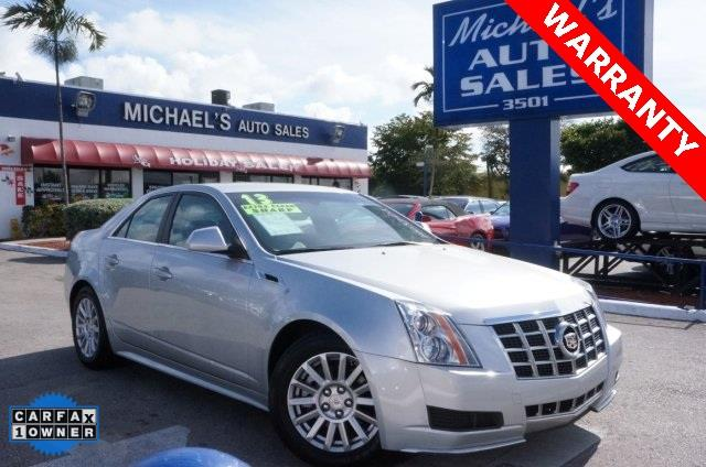2013 CADILLAC CTS 30L LUXURY 4DR SEDAN radiant silver metallic 99 point safety inspection