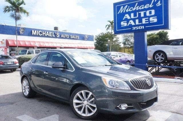 2013 BUICK VERANO LEATHER GROUP 4DR SEDAN cyber gray metallic stop read this hurry and take adva