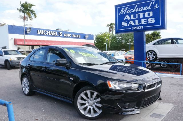 2010 MITSUBISHI LANCER SPORTBACK GTS tarmac black pearl 99 point safety inspection automati