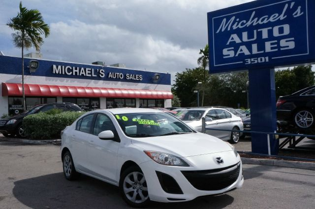 2010 MAZDA 3 I TOURING 4-DOOR crystal white pearl abs brakesair conditioningalloy wheelsamfm r