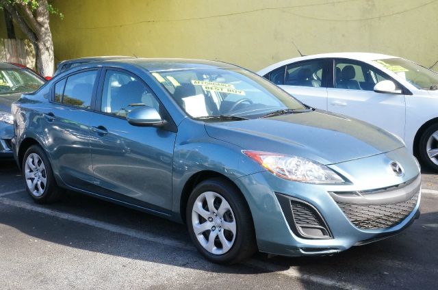 2011 MAZDA MAZDA3 I gunmetal blue mica clean carfax leather one owner and upgrade