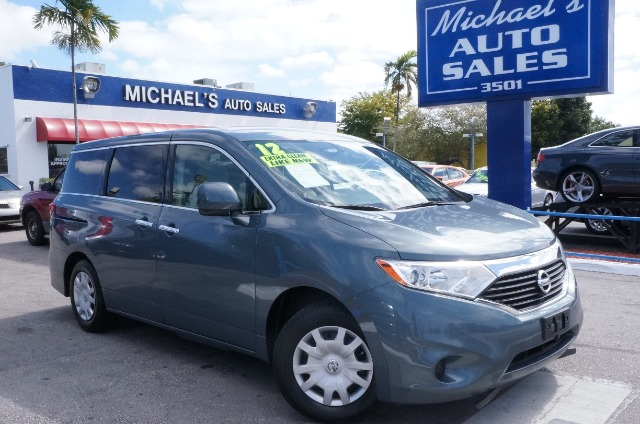 2012 NISSAN QUEST 35 S blue 99 point safety inspection automatic clean carfax and