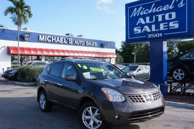 2010 NISSAN ROGUE SL silver ice metallic 99 point safety inspection clean title and no