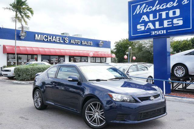 2011 SCION TC SPORTS COUPE 6-SPD AT nautical blue metallic abs brakesair conditioningalloy wheel