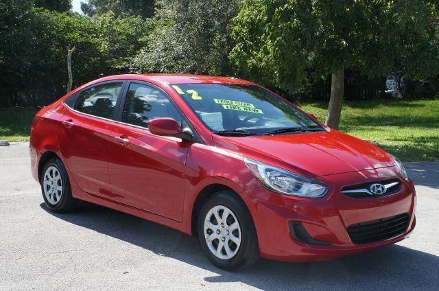 2012 HYUNDAI ACCENT GLS boston red 99 point safety inspection clean title and non-smok