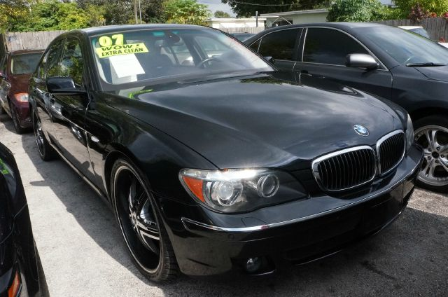 2007 BMW 7 SERIES  ALPINA B7 750I azurite black metallic navigation system10 speakersamfm radi