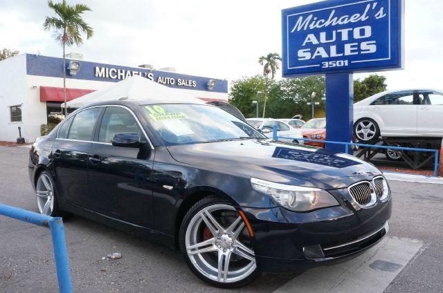 2010 BMW 5 SERIES 528I monaco blue metallic 99 point safety inspection automatic clean
