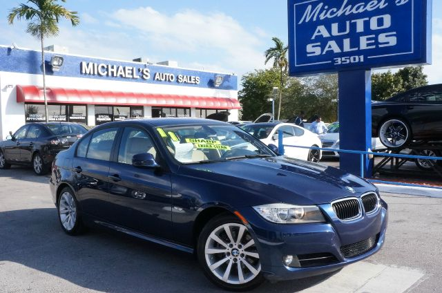 2011 BMW 3 SERIES 328I lemans blue metallic 99 point safety inspection automatic clean
