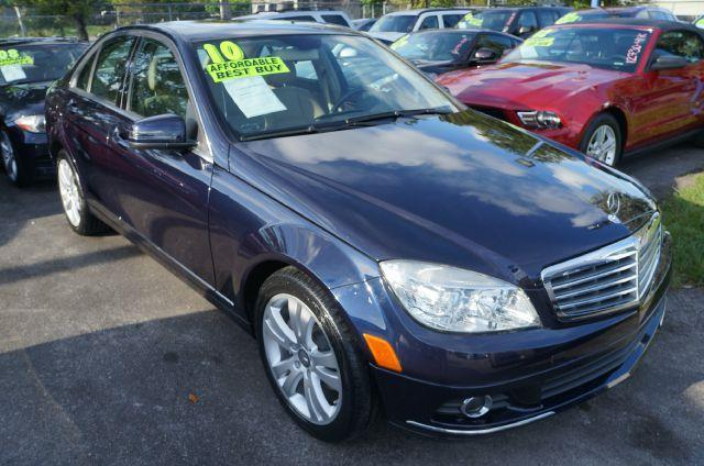 2010 MERCEDES-BENZ C-CLASS C300 capri blue metallic are you still driving around that old thing c