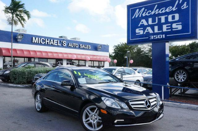 2011 MERCEDES-BENZ E-CLASS E350 COUPE black abs brakesair conditioningalloy wheelsamfm radioa