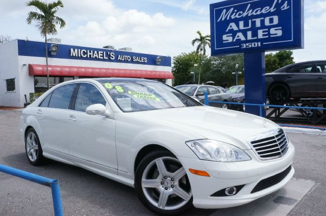 2008 MERCEDES-BENZ S-CLASS S550 arctic white cashmeresavanna wpremium leather seat trim clea