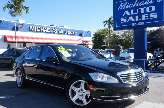 2012 MERCEDES-BENZ S-CLASS S550 black charcoal wpremium leather seat trim clean carfax mo