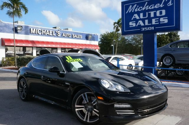 2011 PORSCHE PANAMERA S black clean carfax 99 point safety inspection automatic