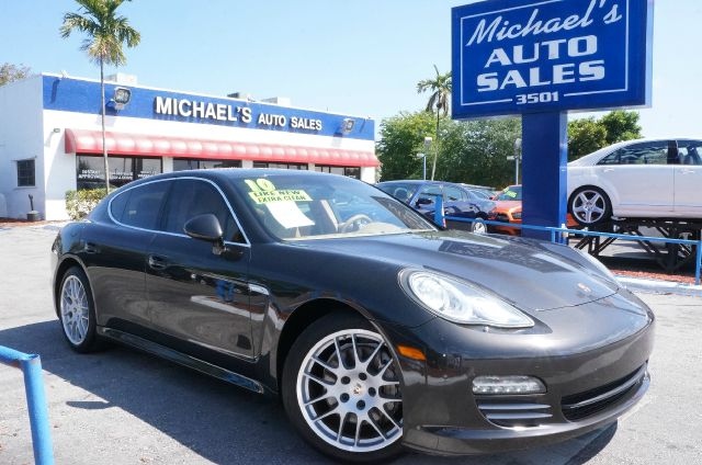 2010 PORSCHE PANAMERA 4S carbon gray metallic awd clean carfax clean carfax leather