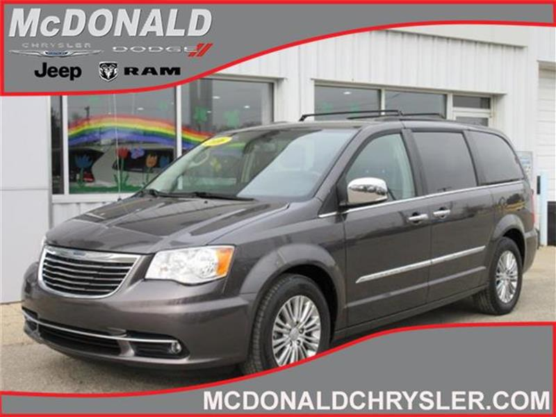 2016 Chrysler Town And Country Touring L Front Wheel Drive Lwb
