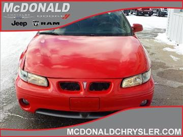 1998 Pontiac Grand Prix for sale in Clare, MI
