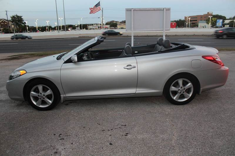 2005 toyota camry solara sle v6 2dr convertible in austin. Black Bedroom Furniture Sets. Home Design Ideas