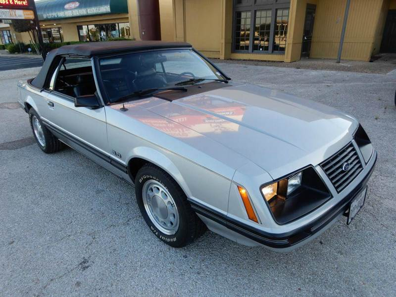 1983 Ford Mustang GLX 2dr Convertible In Austin TX - Austin Direct ...