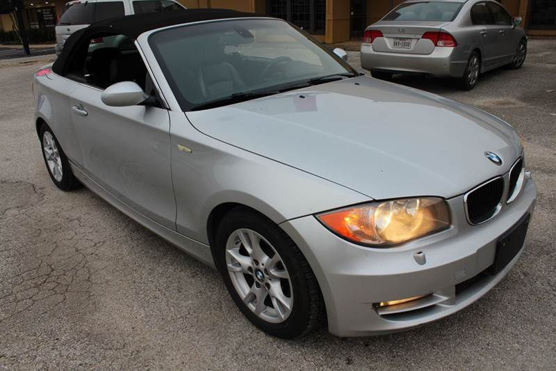 2008 bmw 1 series 128i 2dr convertible in austin tx austin direct auto sales. Black Bedroom Furniture Sets. Home Design Ideas