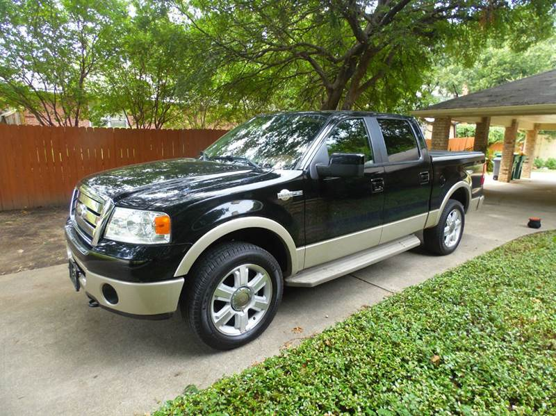 2008 ford f 150 king ranch 4x4 4dr supercrew styleside 5 5 ft sb in lewisville tx adl auto sales. Black Bedroom Furniture Sets. Home Design Ideas