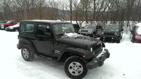 2011 Jeep Wrangler for sale in Little Valley, NY