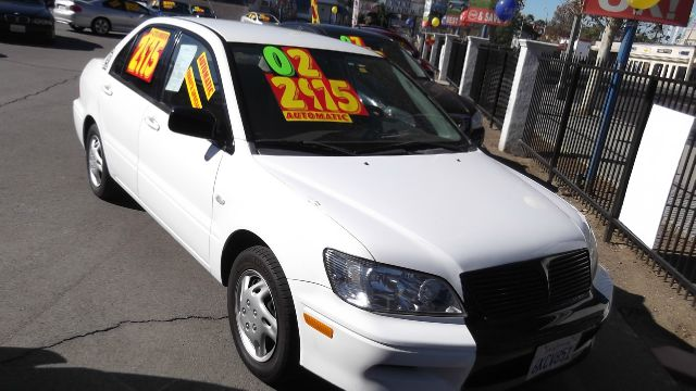 2002 MITSUBISHI LANCER ES white la sierra motors located in pomona prides itself on having great i