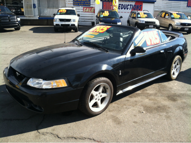 1999 FORD MUSTANG COBRA CONVERTIBLE black la sierra motors located in pomona prides itself on havi