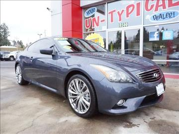 2011 Infiniti G37 Coupe for sale in Milwaukie, OR