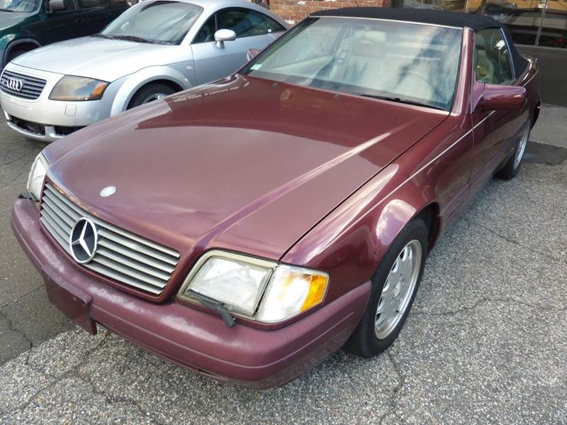 1996 mercedes benz sl class sl320 2dr convertible in for Mercedes benz danbury ct