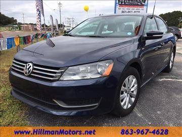2015 Volkswagen Passat for sale in Winter Haven, FL