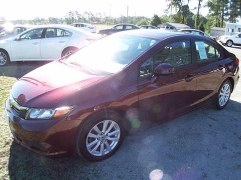 2012 Honda Civic for sale in Swansboro, NC