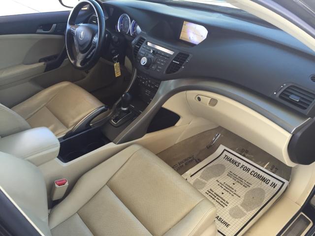 2009 Acura Tsx W Tech 4dr Sedan 5a W Technology Package In