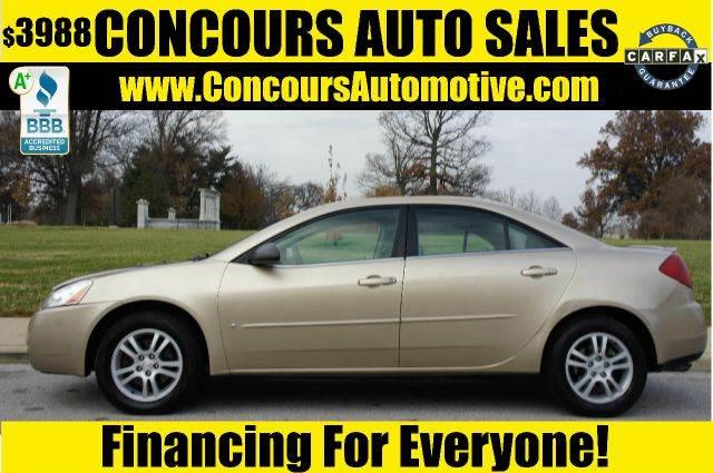 Used 2006 Pontiac G6 Base In Saint Louis Mo At Concours