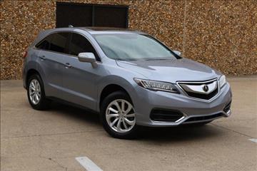 2016 Acura RDX for sale in Dallas, TX