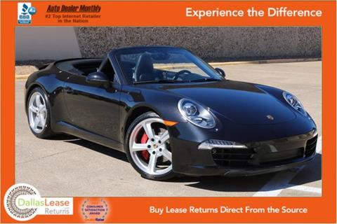 2013 Porsche 911 for sale in Dallas, TX