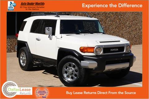 2012 Toyota FJ Cruiser for sale in Dallas, TX