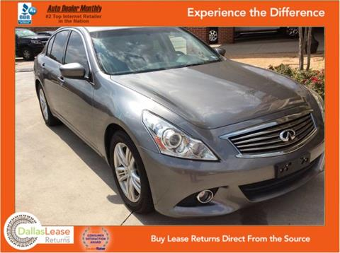 2013 Infiniti G37 Sedan for sale in Dallas, TX