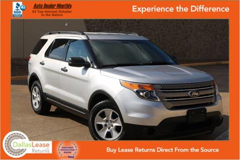 2013 Ford Explorer for sale in Dallas, TX