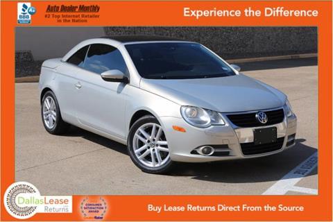 2009 Volkswagen Eos for sale in Dallas, TX
