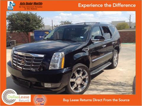2013 Cadillac Escalade for sale in Dallas, TX