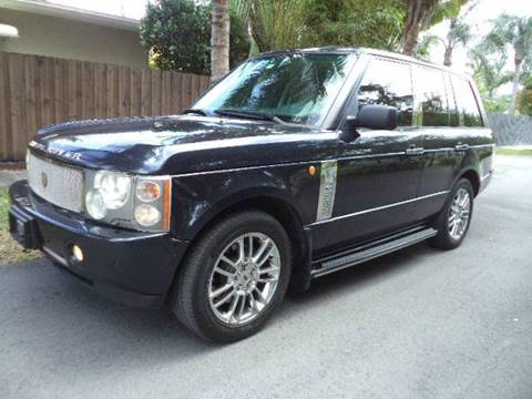 2003 Land Rover Range Rover for sale in Hollywood, FL