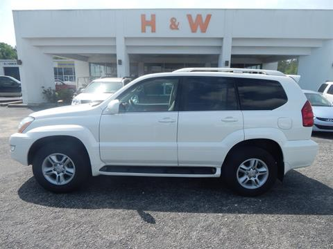 used lexus gx 470 for sale in alabama. Black Bedroom Furniture Sets. Home Design Ideas